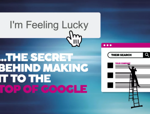 I'm feeling lucky… the secret behind making it to the top of Google